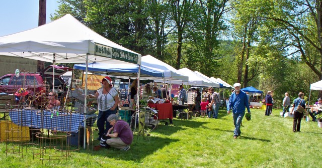 A beautiful day at this year's Garden Swap and Sale, May 2.